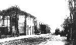 Vue de la gare au début du siècle