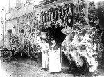 La boucherie Izard, la Semaine Sainte
