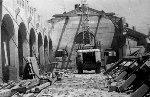 démolition de la Halle en 1971 (cliché de J. Laconde)