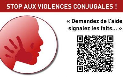 Stop Violences conjugales : repérez le réseau !
